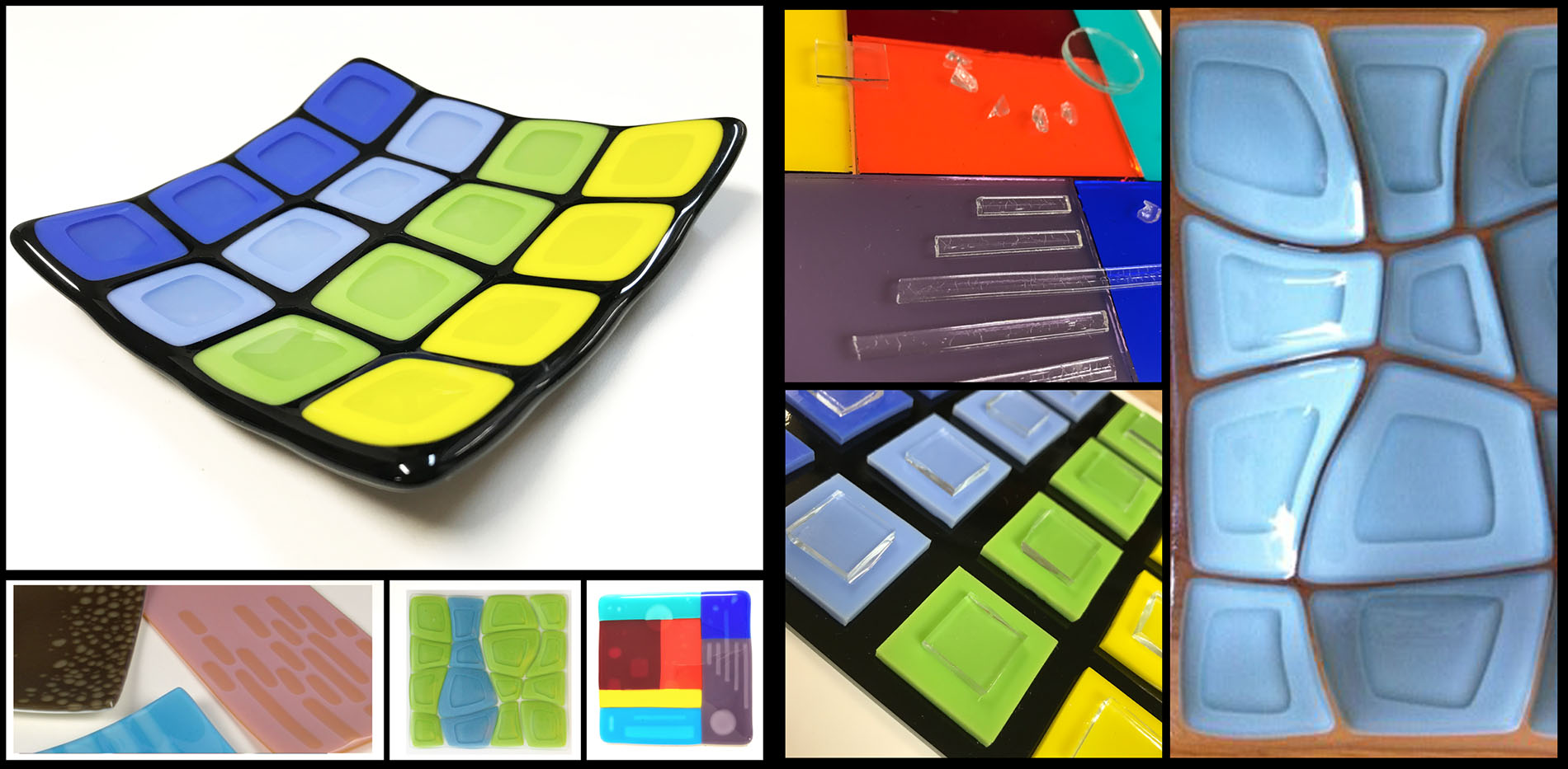 Let's Get Diluted - Fused Glass Platter