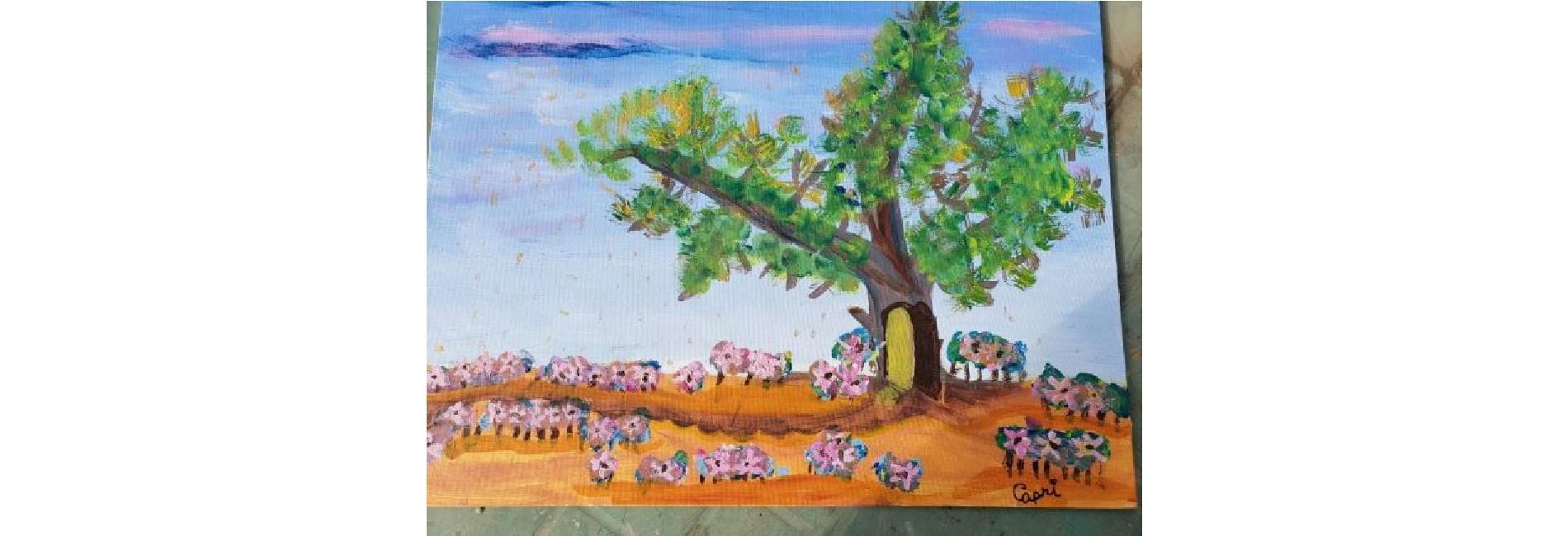 Kids Acrylic Landscapes