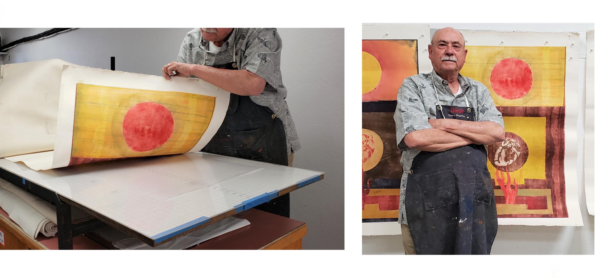 LARGE Printmaking