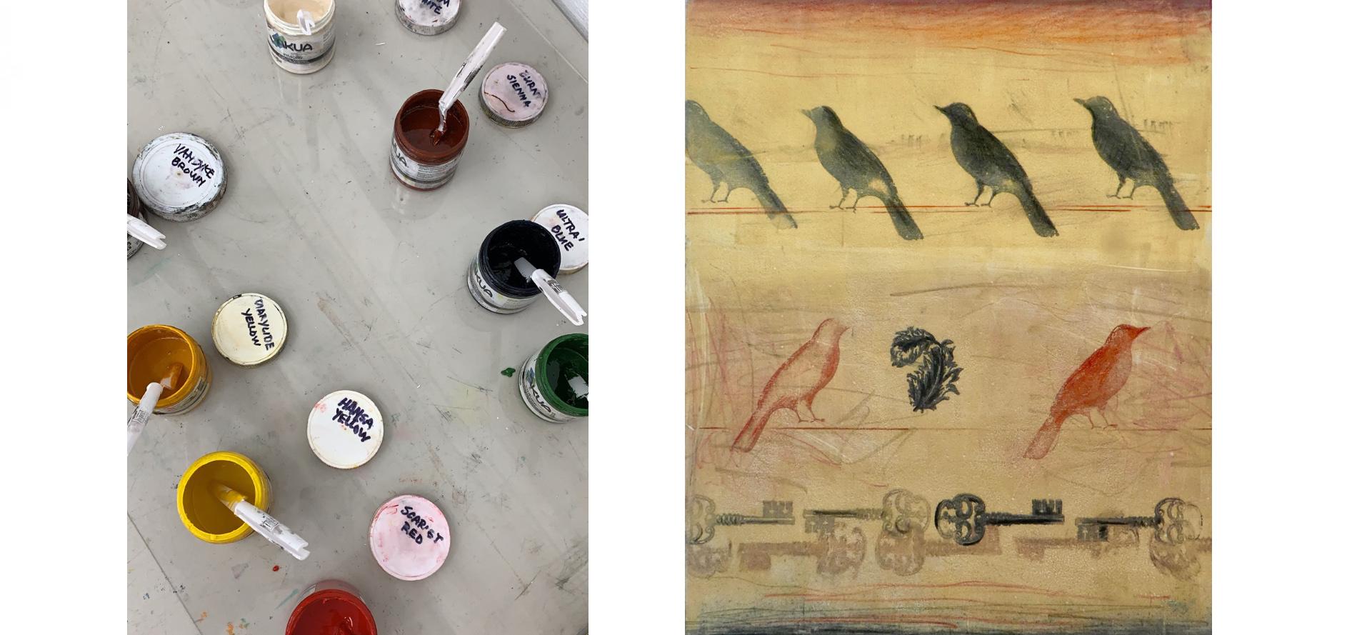 Stamps & Stencils Workshop