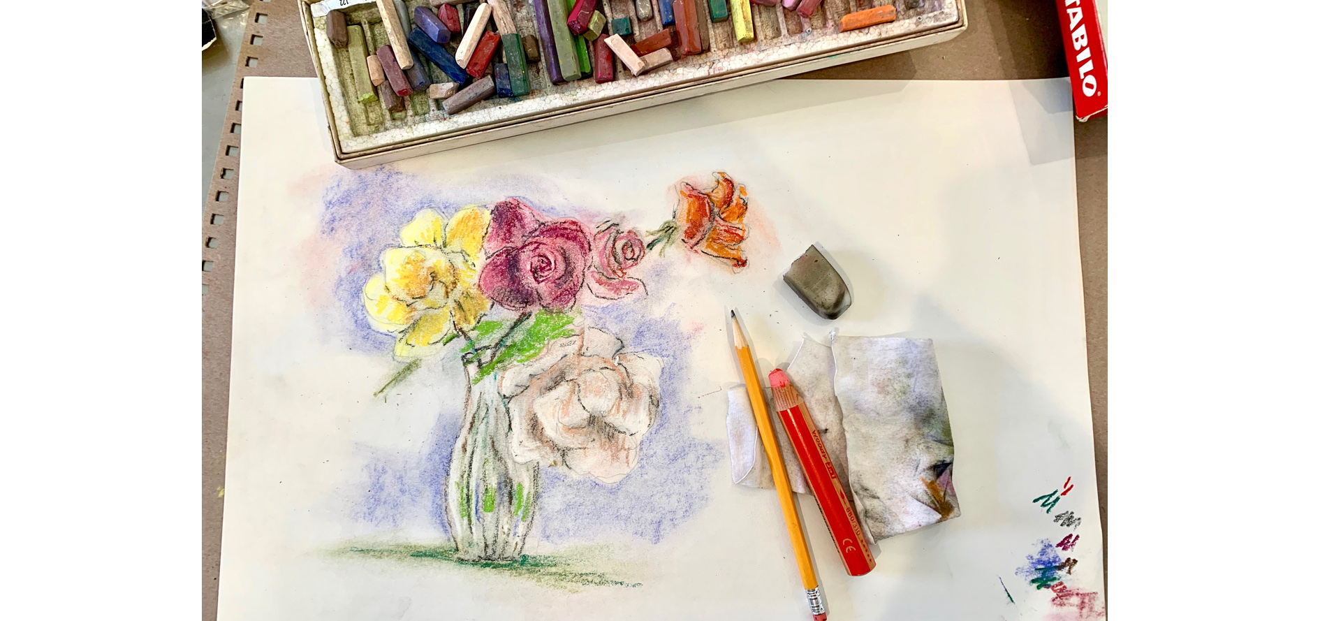 Still Life Sketching with Color - NEW SCHEDULE