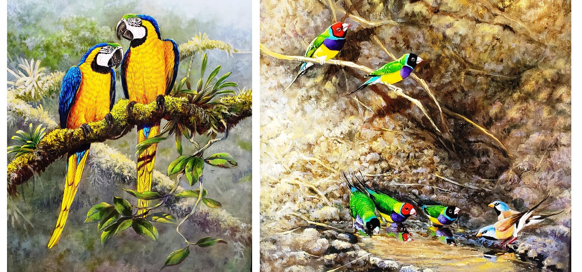 Gamini Ratnavira's Brushes with Nature
