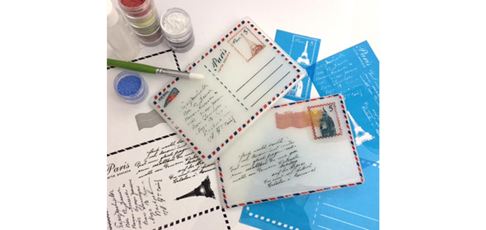 Create a Postcard in Glass