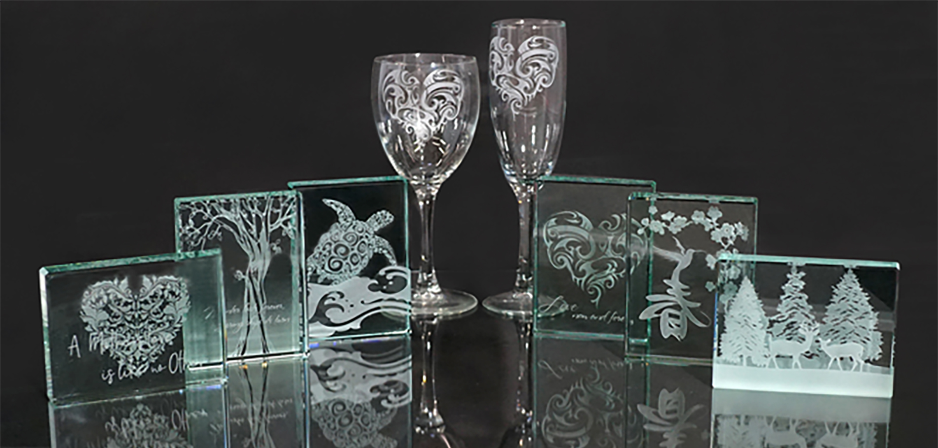 Etched Glassware for Valentines Day - Session 3
