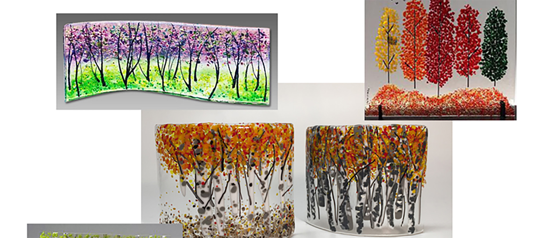 (Glass) Frit Happens - Landscapes Fusing Project