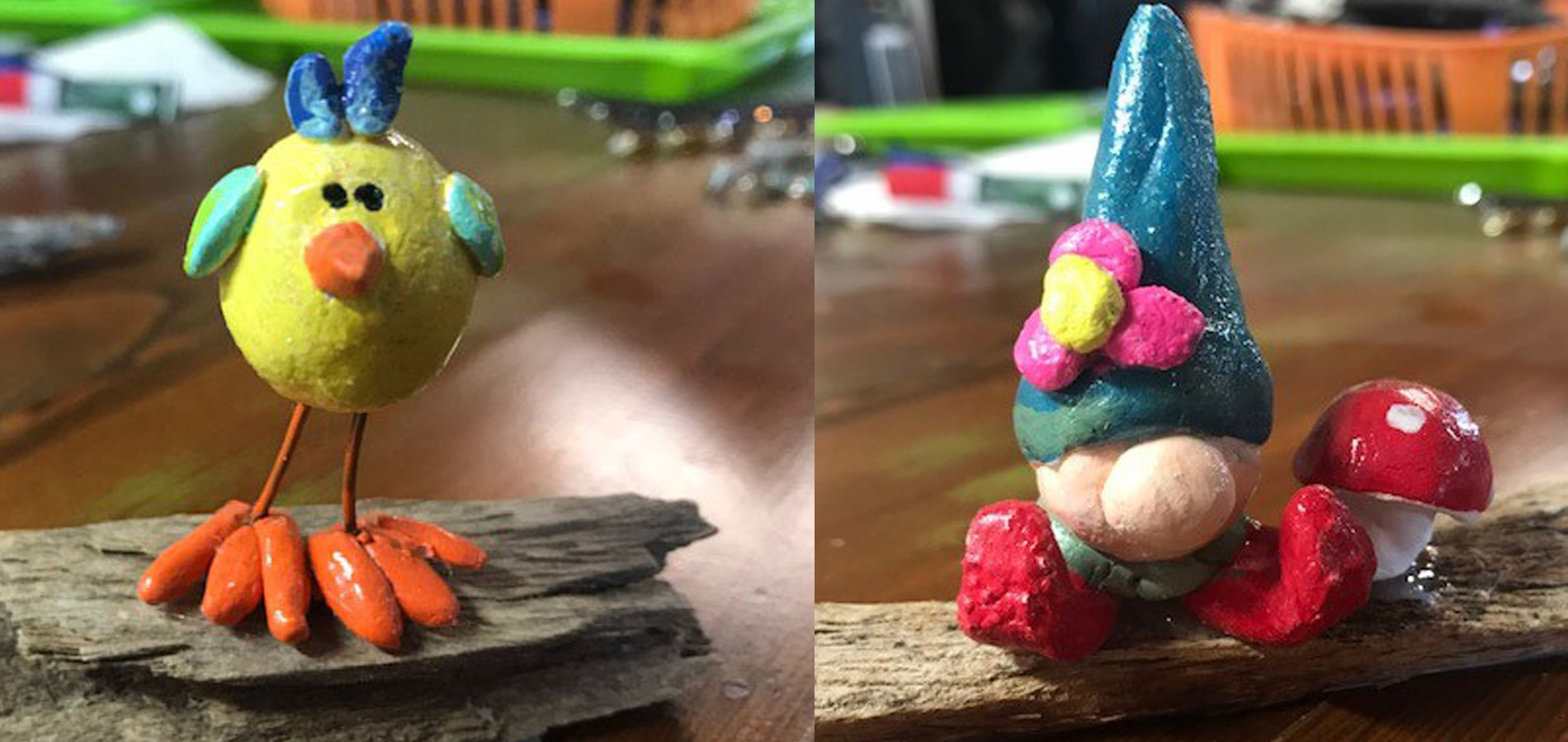 Paper Clay Creatures & Friends (Ages 15 & up)