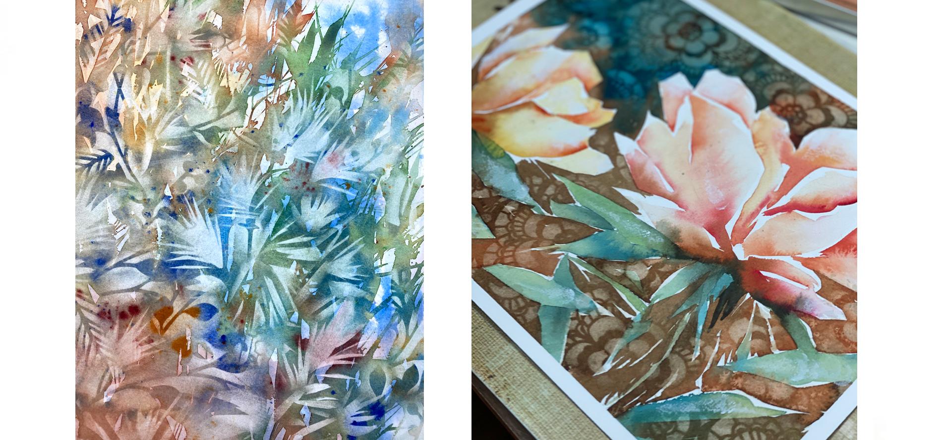 Watercolor Gardening