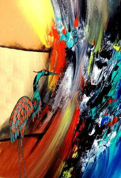 Cranes of Color