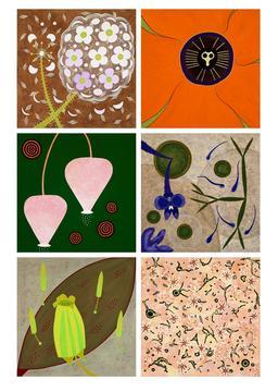 Macro-Floral Sextet