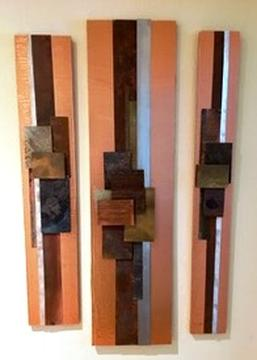 Copper Triptych