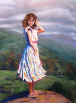 Bettie on the Rock