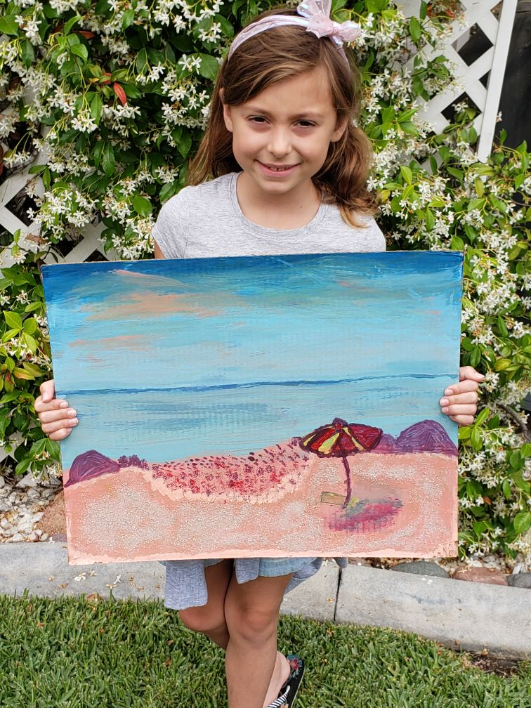 Summers - Kids Acrylic Landscapes
