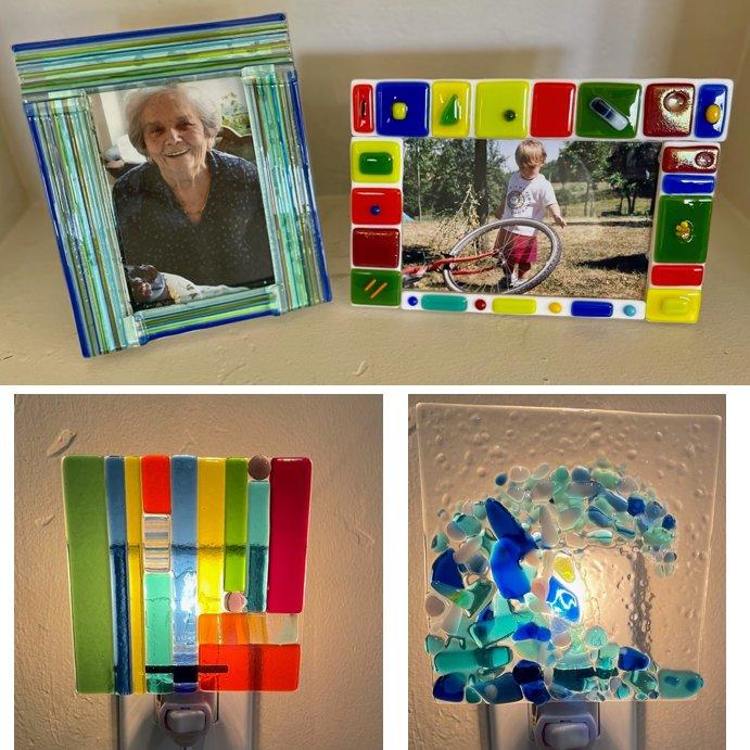 Fused Glass Artful Decor