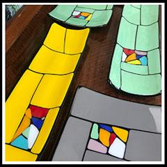 Kaleidoscope Plates