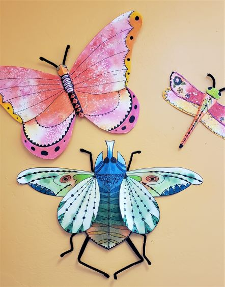 Big Flying Bugs!