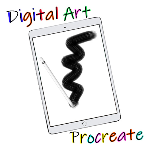 Procreate & Digital Art Intro - Kids (Ages 11 & up)