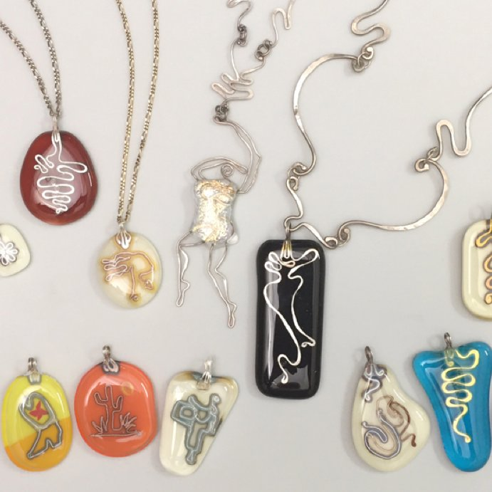 Wire & Fused Glass Workshop