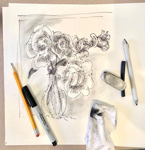 Still Life Sketching