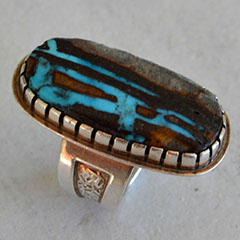 Cabochon Ring - Metalsmithing