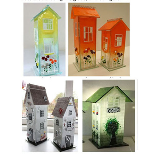Glass Candle House