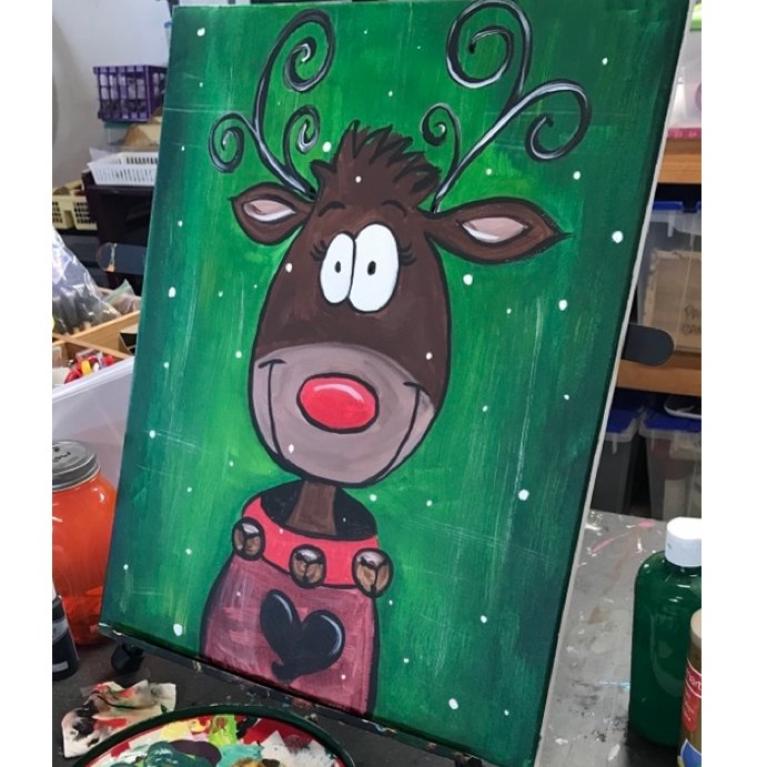 Kids Holiday Painting Workshop (Ages 10-16)