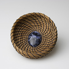 Ornate Coiled Basketry