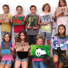 Art Expression for the S.D. Fair Creative Youth Exhibit (Grades 3-7)