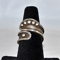 Raindrop Wrap Around Ring
