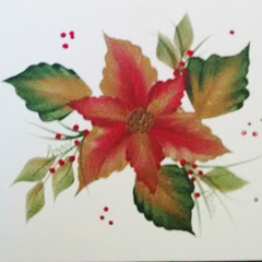 Make a Holiday Gift with the One-Stroke Painting Technique