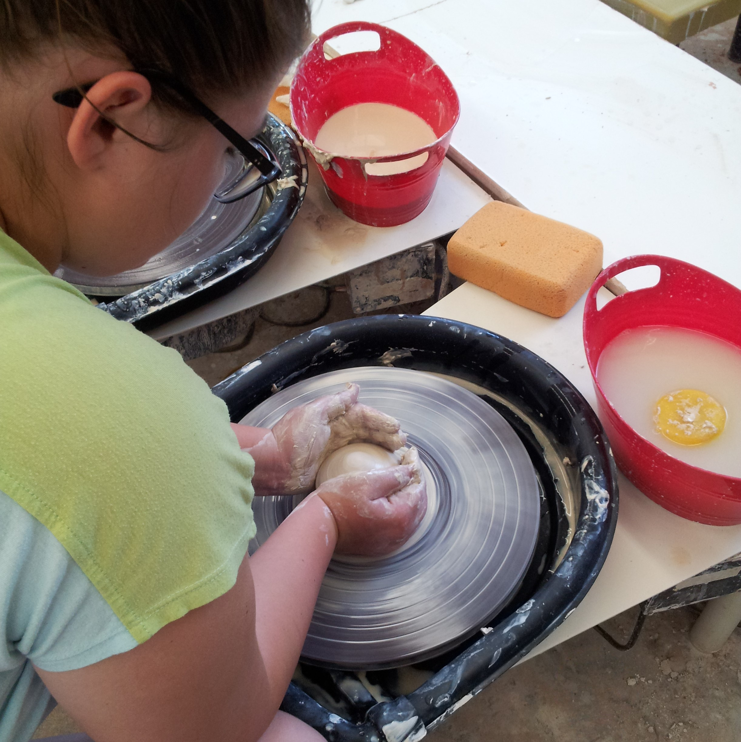 Mudslingers - Ceramics for Kids (Ages 6-14) - Tuesdays - NEW TIMES