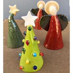 Ceramic Holiday Art!