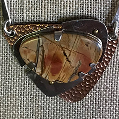 Pendant with Cabochons without Soldering