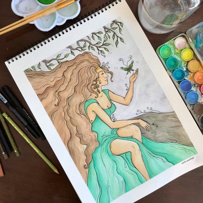 Whimsical Watercolor & Ink Workshop