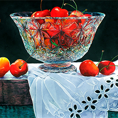 Vibrant Paintings with Soon Y. Warren