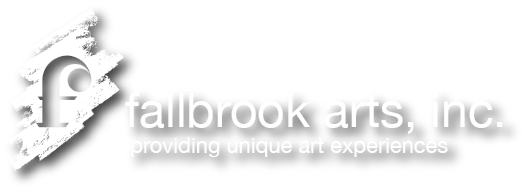 fallbrook arts, inc. logo